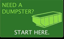 New! Rent dumpsters online!